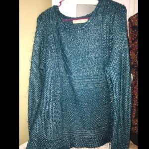 Faded Glory Teal/ Green Sweater